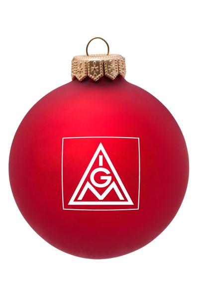 IGM-Weihnachtskugel Logo