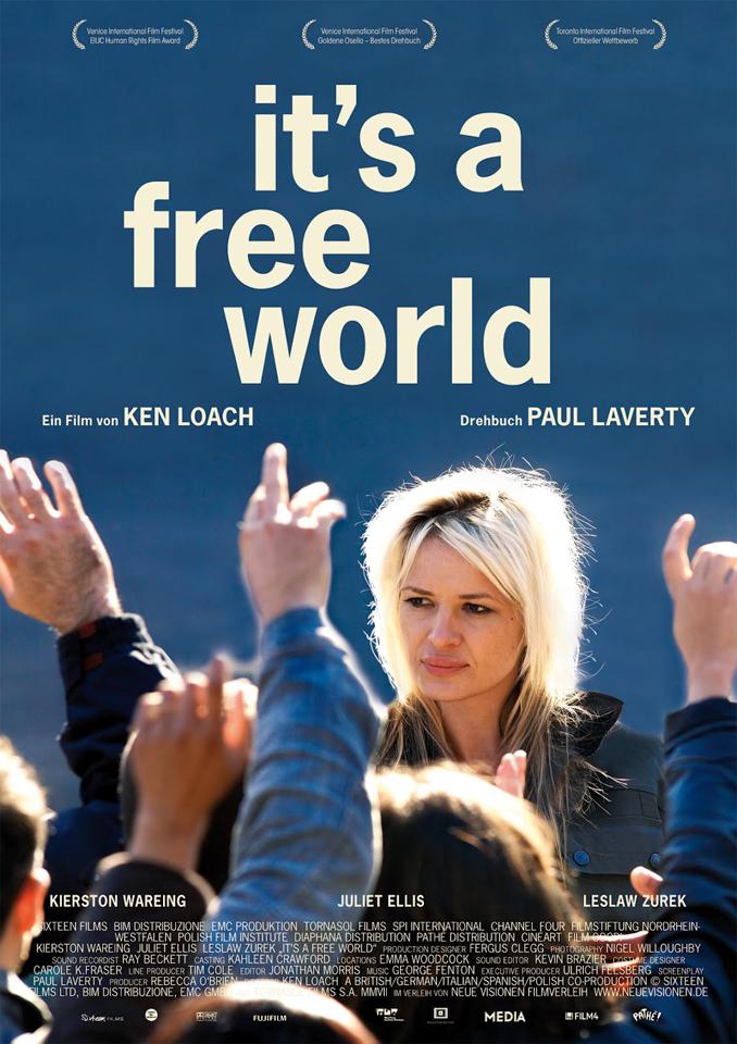 free-world-plakat